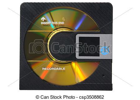 Stock Photo of Minidisc.