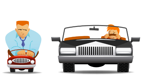 Downsizing your car can change how you drive.