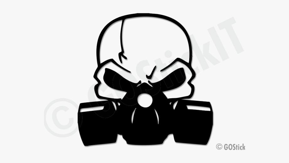 Gas Mask Clipart Minimalist.