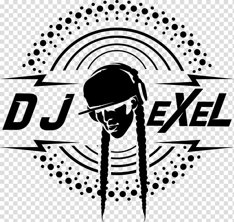 Art Minimalism Graphic design, dj logo transparent.