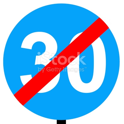 End Of Minimum Speed Limit Sign stock photo 475038789.