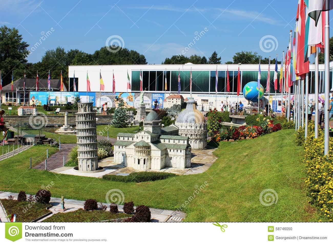 Minimundus Park Klagenfurt Austria Stock Photos, Images.