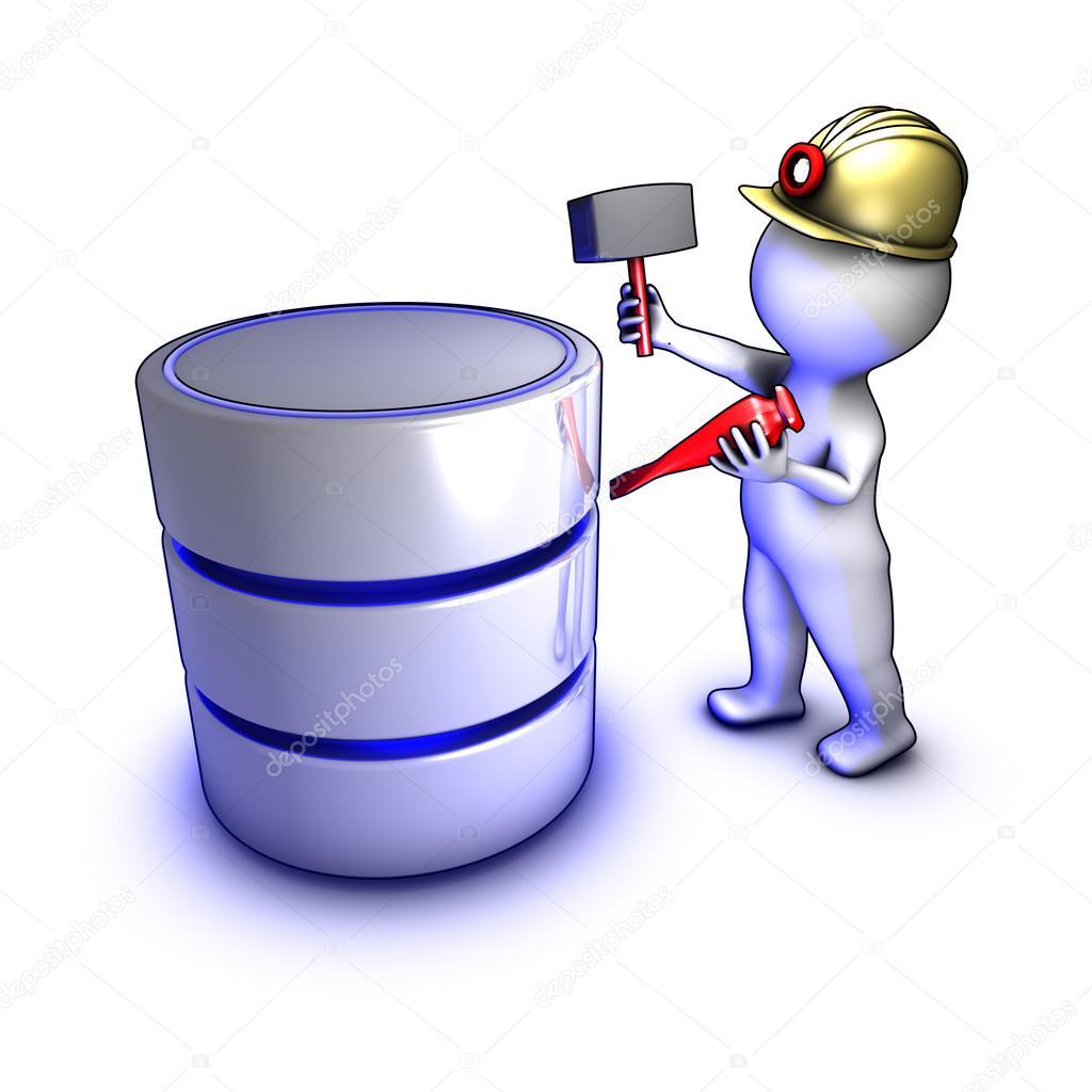 Concept of data mining — Stock Photo © dtjs #10619563.