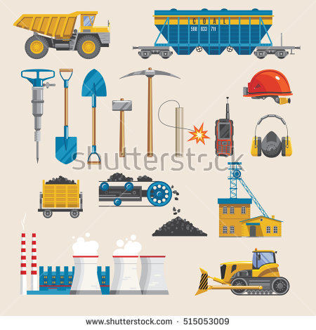 Resource Extraction Stock Images, Royalty.