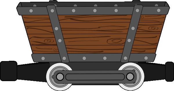 Mine Cart Clipart.