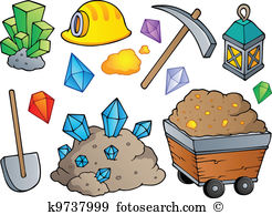 Mining Clip Art Illustrations. 8,198 mining clipart EPS vector.
