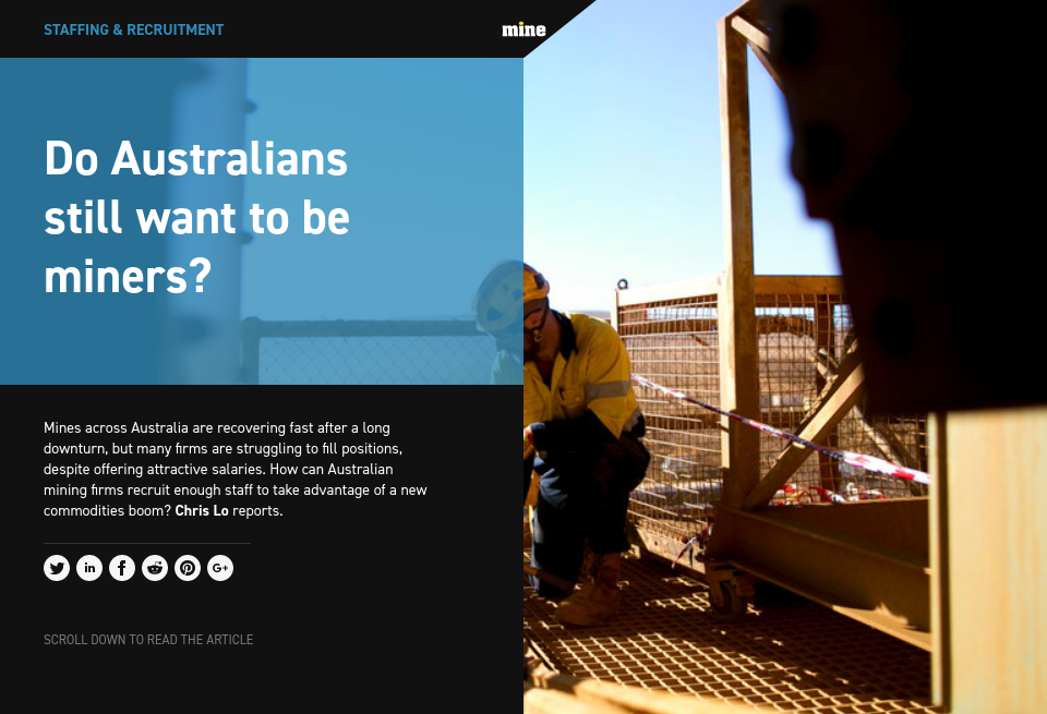 Do Australians still want to be miners?.