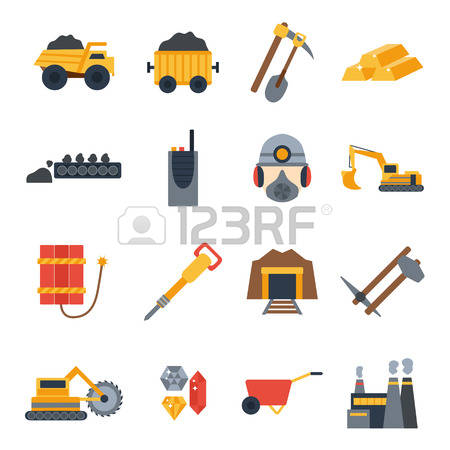 Gold Mining Stock Vector Illustration And Royalty Free Gold Mining.