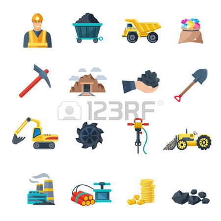 4,304 Mining Equipment Stock Vector Illustration And Royalty Free.