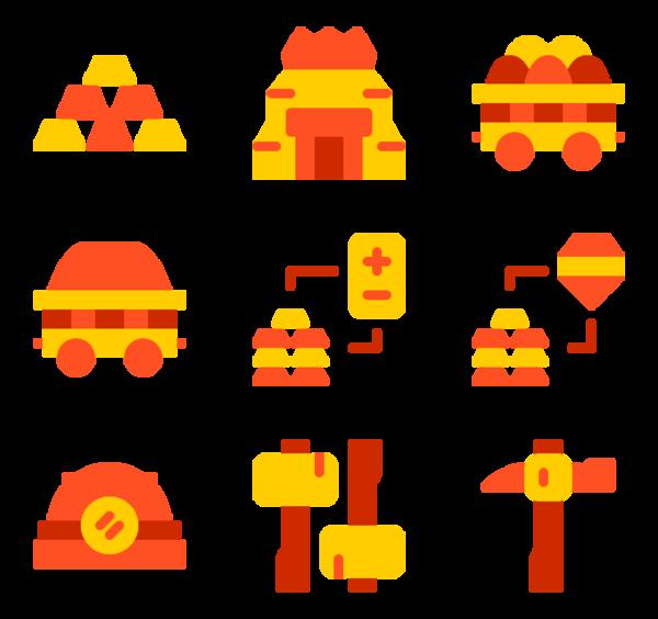 Mining Icons.