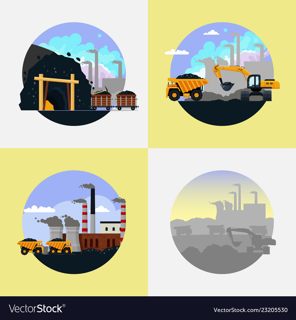 Coal mining industry set flat.