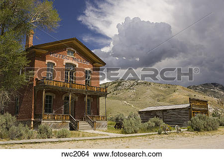 Stock Photo of BANNACK, MONTANA, USA.