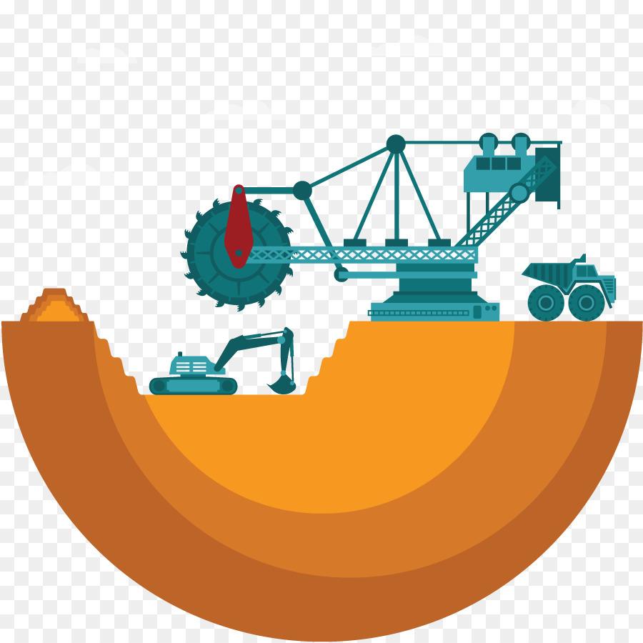 Mining clipart mining site, Mining mining site Transparent.