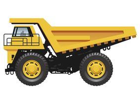 Dump Truck Free Vector Art.