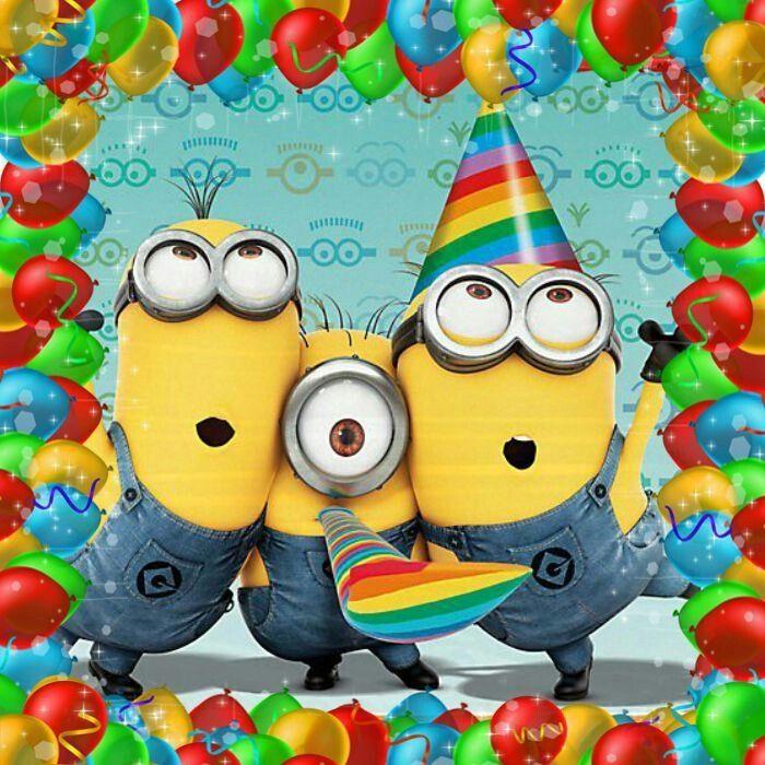 Birthday Minions.