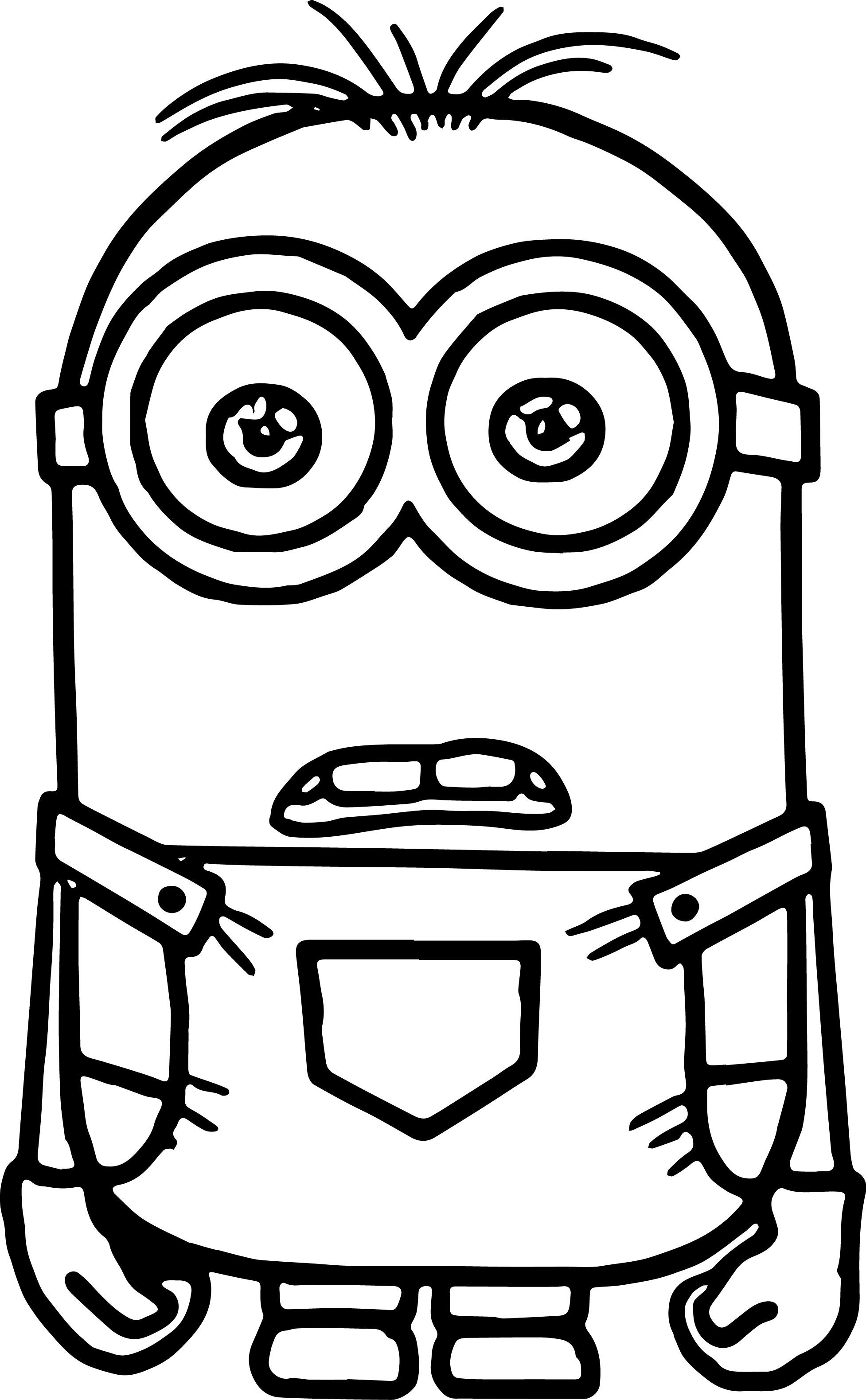 1408 Minions free clipart.