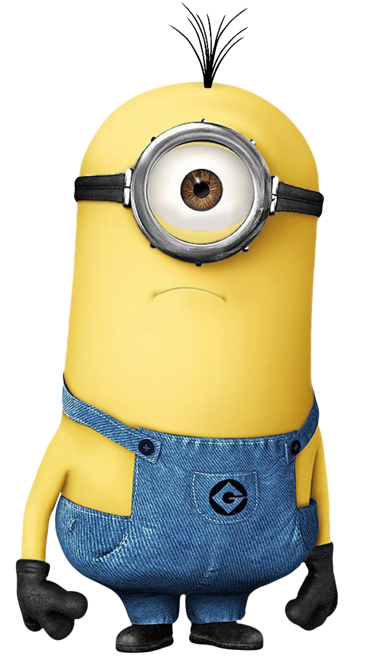 Transparent Minion PNG Image.