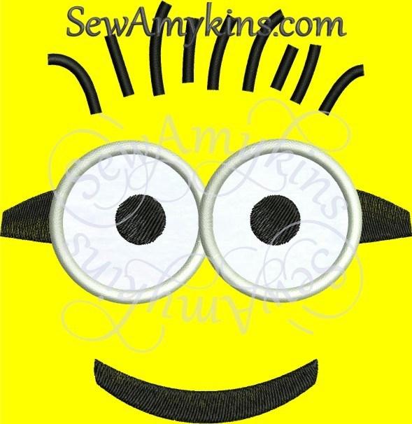 Minion face clipart 6 » Clipart Portal.
