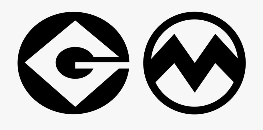 Printable Minion Logo Stencil 137050.
