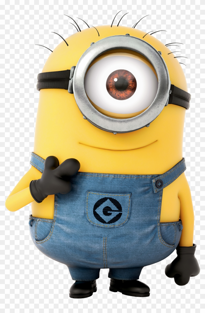 Minion Transparent Cartoon Png Image.