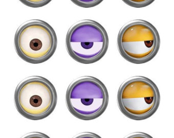 Minion Eye Clipart.