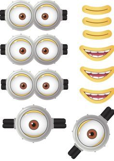 Despicable Me Minions, SVG Files, png Files, minion clipart.