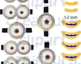 Minion Mouth Clipart.