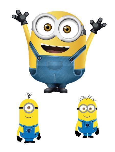 Minion vector free download.
