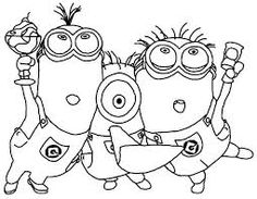 Minion Clipart Black And White (90+ images in Collection) Page 2.