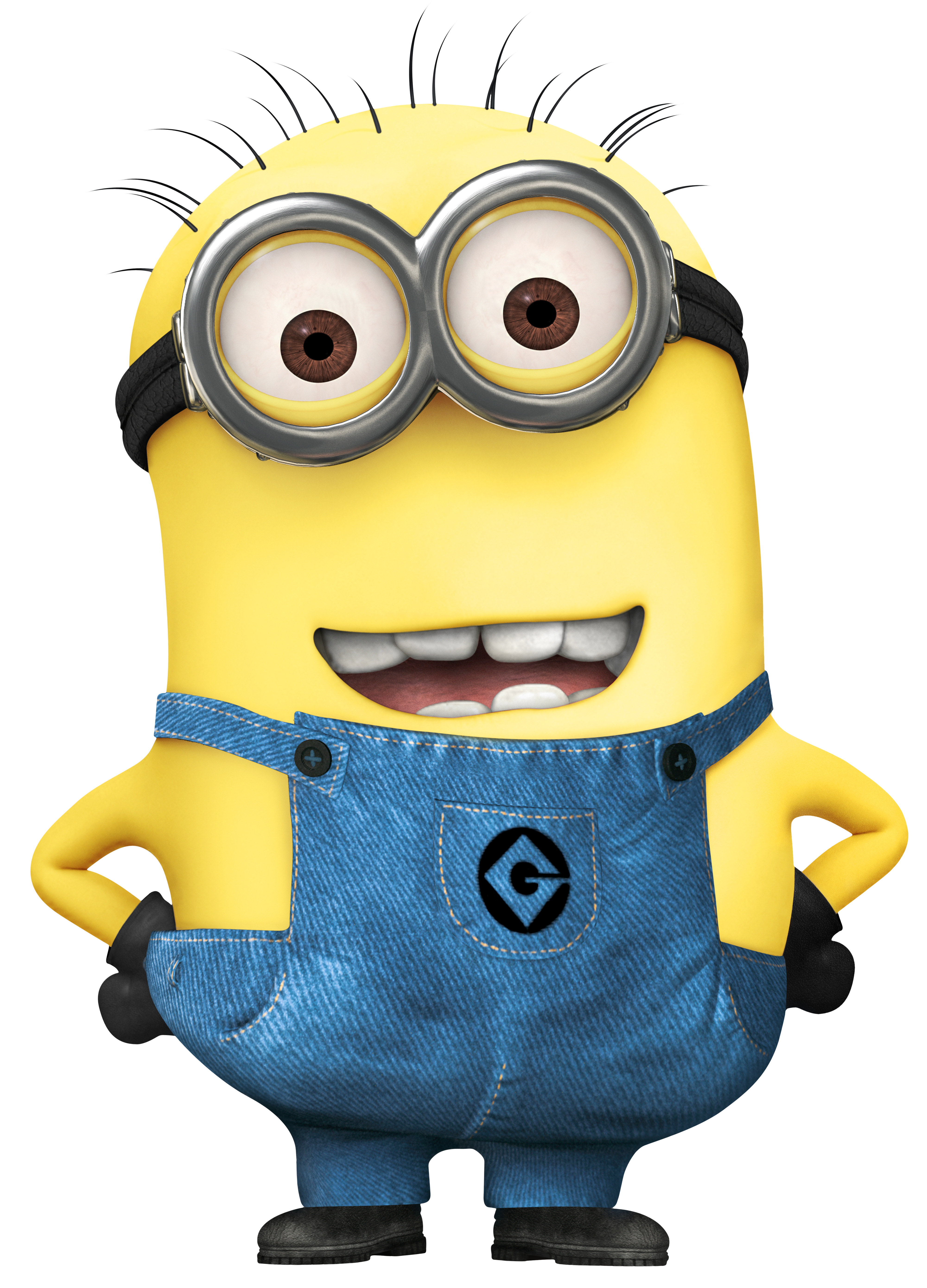 Extra Large Transparent Minion PNG Image.