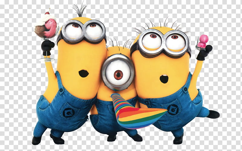 Minions, minions transparent background PNG clipart.
