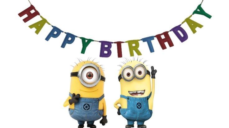 minions happy birthday clipart #2