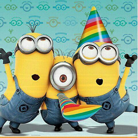 minions happy birthday clipart #15