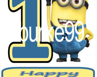 minions happy birthday clipart #16