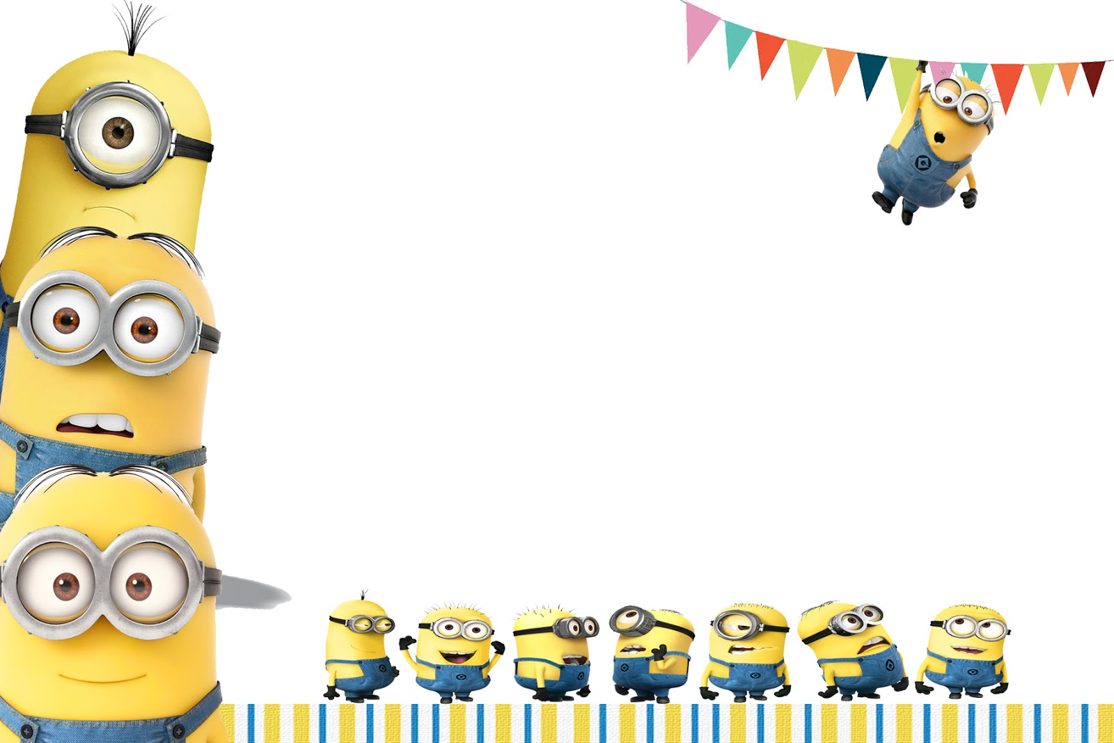 Minions Clipart Birthday.