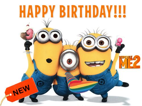 minions happy birthday clipart #18