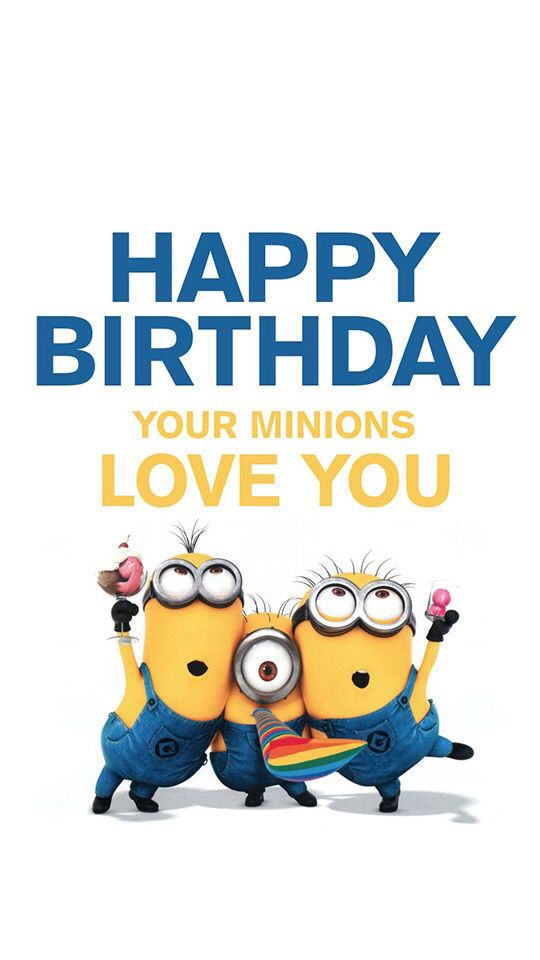 minions happy birthday clipart #5