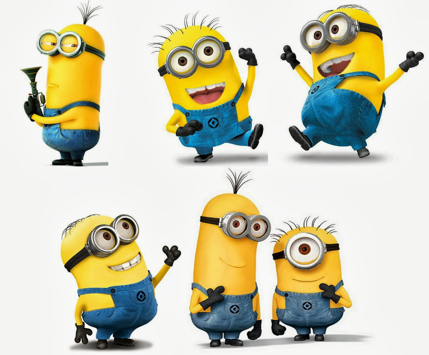 minions happy birthday clipart #7