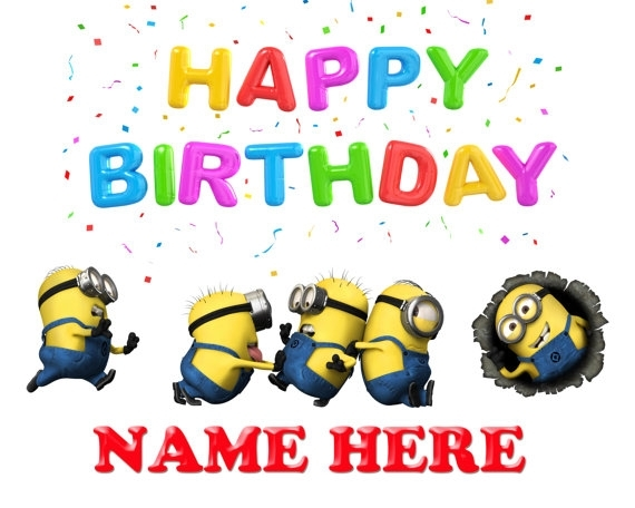 Watch more like Minion Birthday Clip Art Animated.