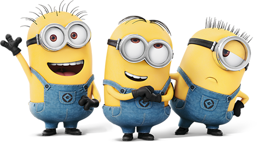 Minions PNG Free File Download.
