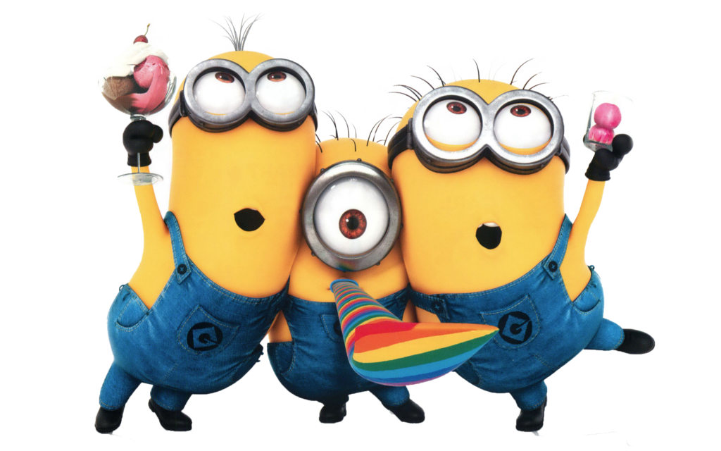 Minions PNG images.