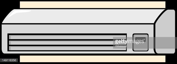 air conditioner mini split Clipart Image.