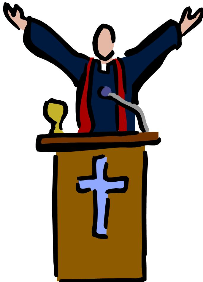 Minister Clipart.