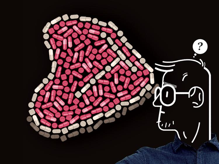 Risks of rampant antibiotic use on farm animals.