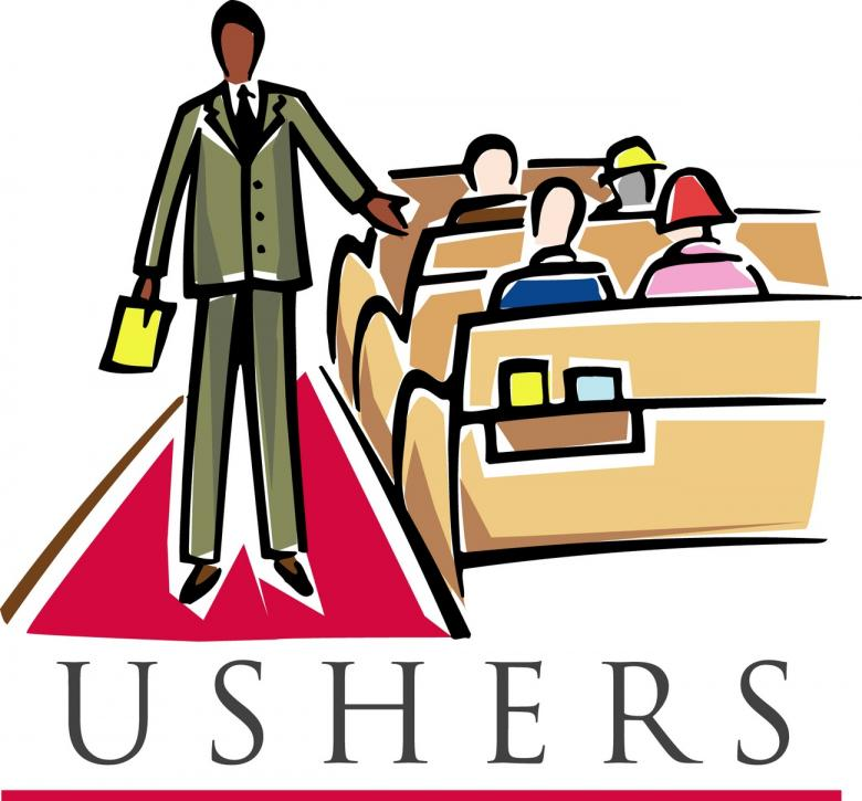 Usher ministry clipart » Clipart Station.