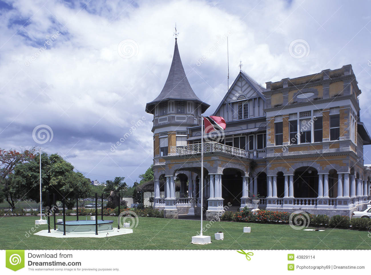 Ministry Of Foreign Affairs, Trinidad And Tobago Stock Photo.