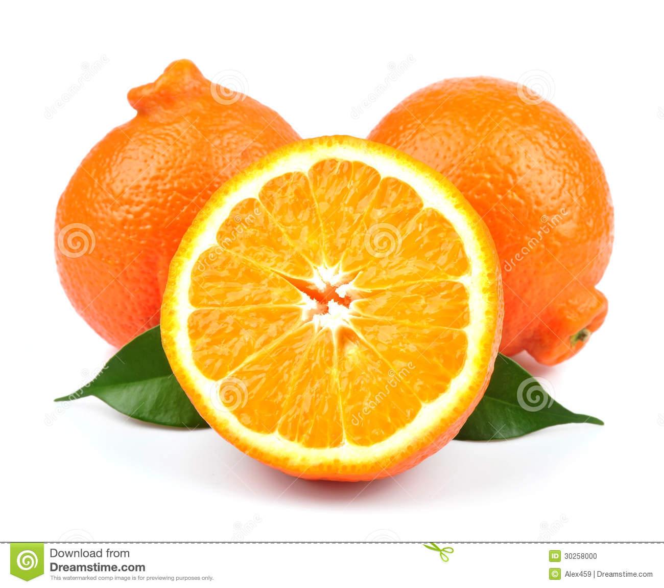 Sweet Oranges Fruits( Minneola) Stock Photo.