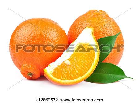 Stock Photo of Sweet oranges fruits( minneola) k12869572.