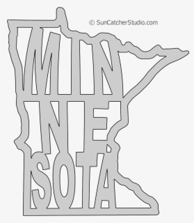 Free Minnesota Outline Clip Art with No Background.