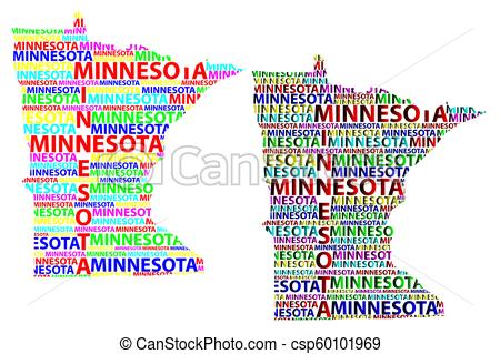 Minnesota map.